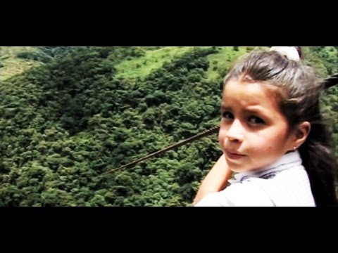 Zipline commute: Columbia kids cross canyon to reach school (Learning World: S1E04, part 1/3)