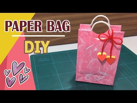 DIY - Paper Bag Tutorial #03