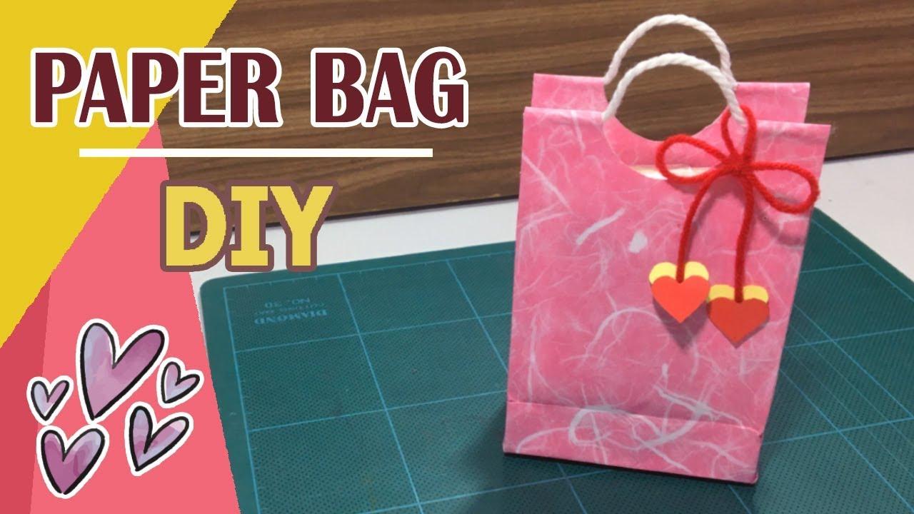 DIY - Paper Bag Tutorial  03 - YouTube d97395c99bcff