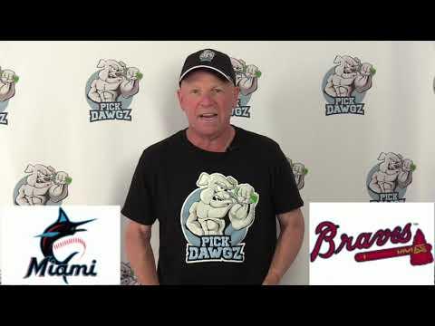 Atlanta Braves vs Miami Marlins Free Pick 7/21/20 MLB Pick and Prediction