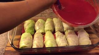 How to make Cabbages Rolls