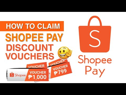How to Claim DISCOUNT VOUCHERS for SHOPEE PAY | Updated 2020