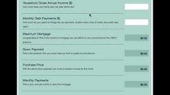 How much mortgage can I afford?  Mortgage Affordability Calculator