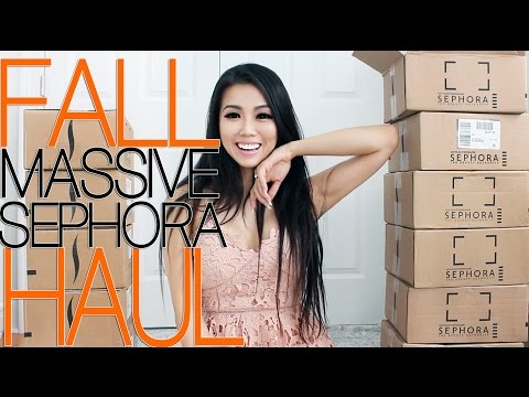 MY MASSIVE SEPHORA FALL HAUL