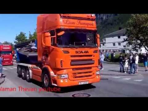 Motorshow turck stryn sentrum norway 2016