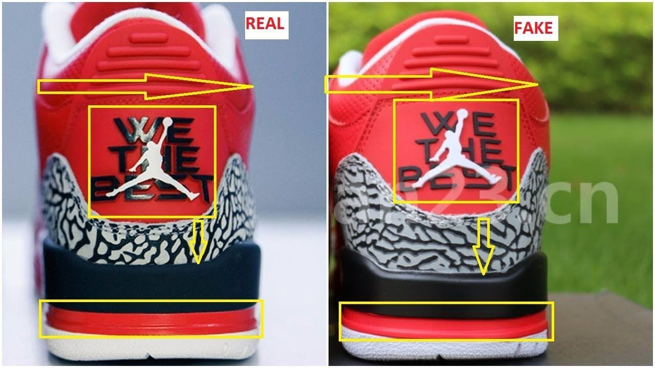 reputable site 635d7 d338f Fake DJ Khaled Air Jordan 3 Grateful Spotted-Quick Ways To Identify Them