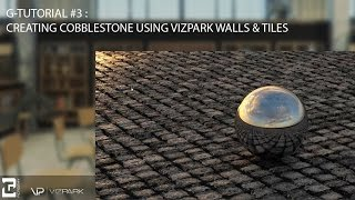 ز-البرنامج التعليمي #3 : كيفية إنشاء الحصى باستخدام VIZPARK الجدران والبلاط المساعد