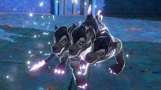 Immortals Fenyx Rising - Hound of Hades, Legendary Cerberos Boss Fight (PS5, 4K)