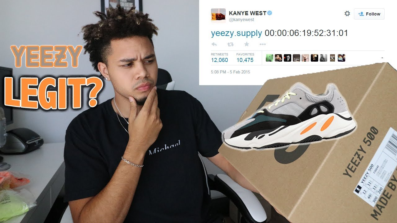 010a0bc39 Is Yeezy Supply Legit  - YouTube