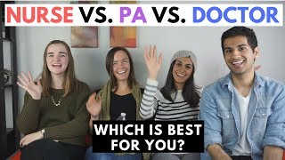 Doctor Vs Nurse Vs PA | Yale Student Comparison