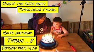 duhop happy birthday tiffani avatar super boyfriend celebrates girlfriends birthday vlog