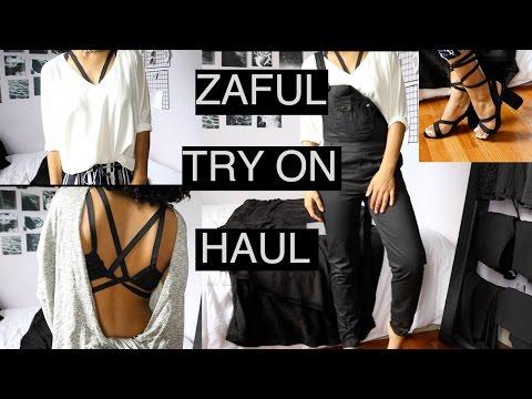AFFORDABLE BACK TO SCHOOL ZAFUL CLOTHING HAUL | ARIANA.AVA