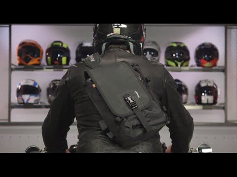 Waterproof Messenger Bag >> Kriega Sling WP Shoulder Bag Review at RevZilla.com - YouTube