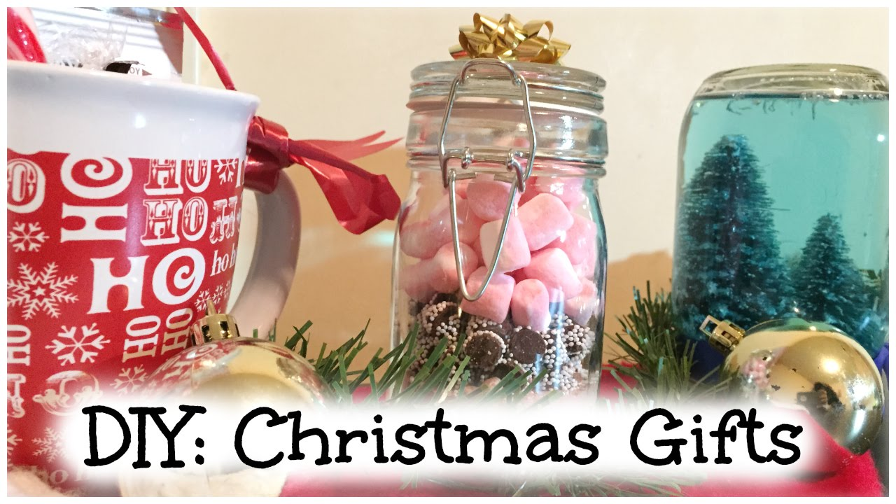 DIY: Last Minute Christmas Gifts! - YouTube