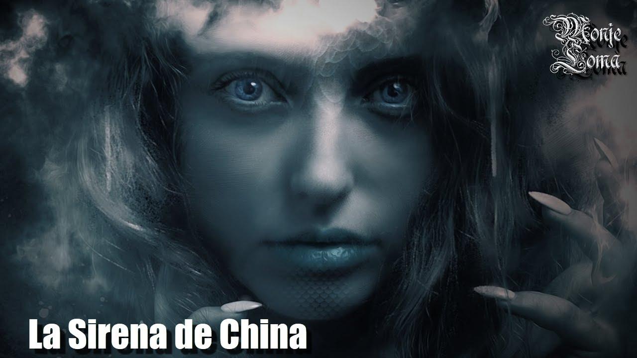 La Leyenda De La Sirena Y La Joven De CHINA.