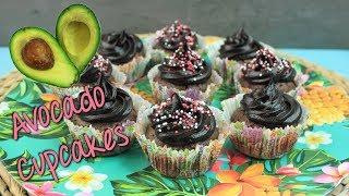 AVOCADO CUPCAKES [VEGAN] | Avocado Rezept süß | süße Avocadocreme selber machen