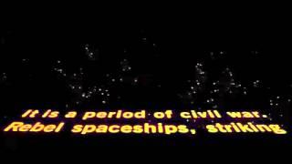 "Original ""Star Wars"" Opening Crawl | 20th Century FOX Fanfare |"