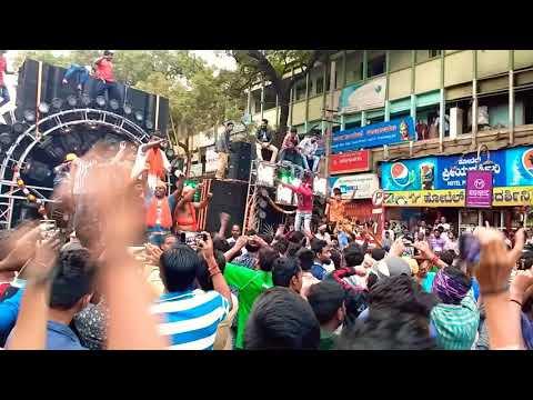 Ganesh visarjan,HUBLI, stanley dj vs bhavani dj,2017,competitions,sound  system
