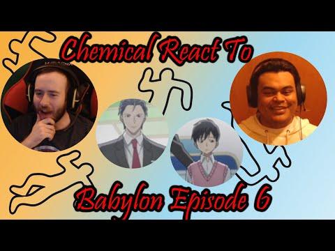 "Babylon: Episode 6 ""Reaction/Review""  So A New Plan Starts."