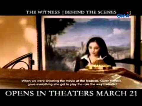 The Witness - Behind the Scenes with Gwen Zamora
