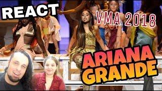 Baixar REAGINDO: ARIANA GRANDE LIVE VMA 2018 - GOD IS A WOMAN (MTV REACT)