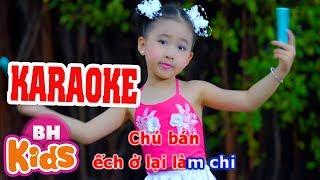 [KARAOKE] Bắc Kim Thang Cà Lang Bí Rợ | Nhạc Thiếu Nhi Karaoke cho bé