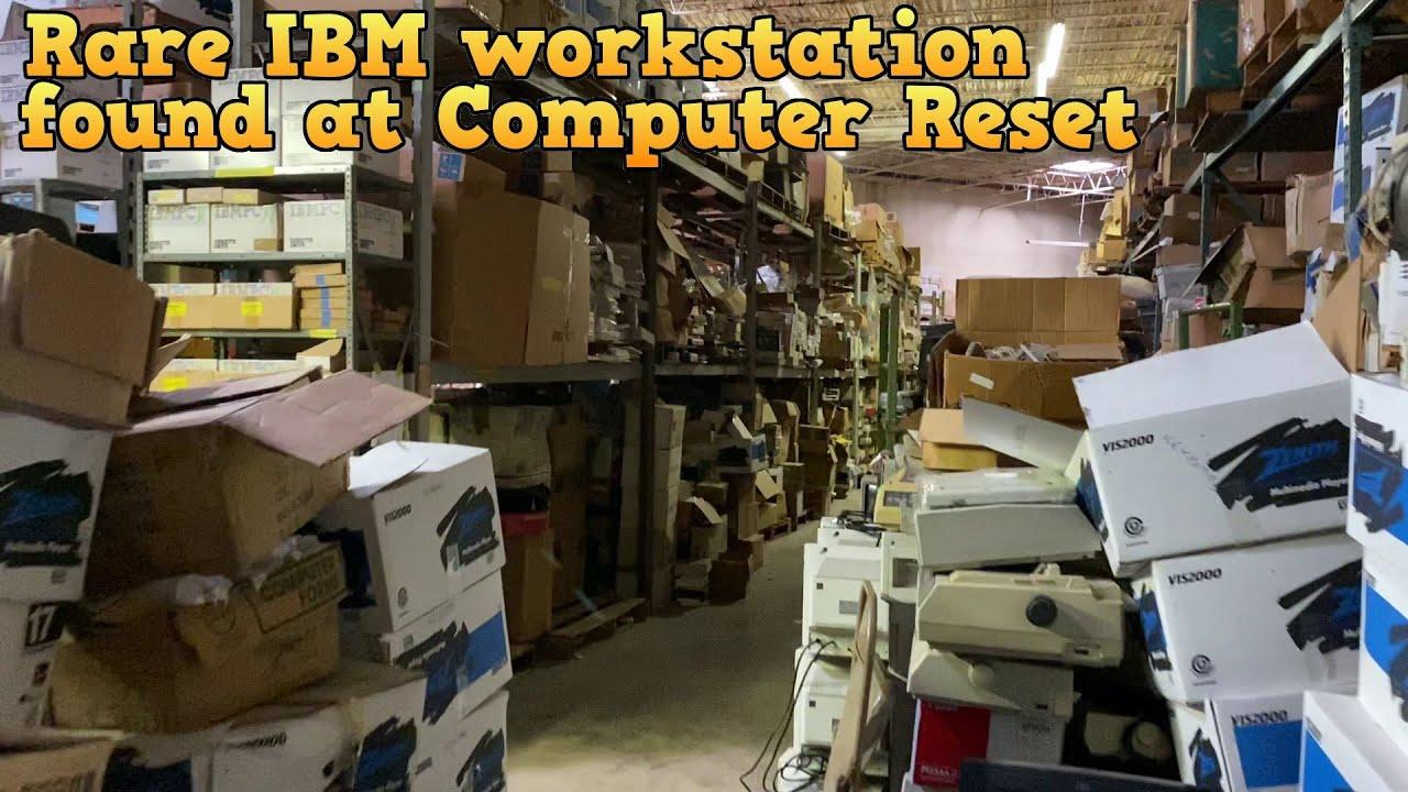 Found at Computer Reset - IBM 7496 Executive Workstation