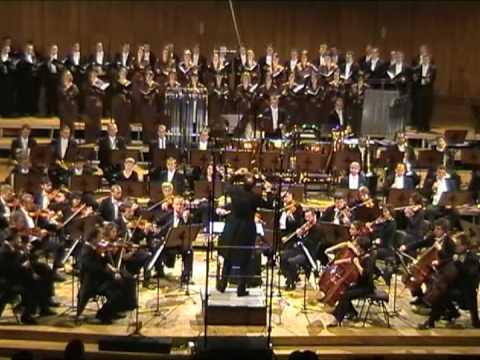 """PIOTR BORKOWSKI conducts MARIAN BORKOWSKI - """"DE PROFUNDIS"""" part 2, PODLASIE PHILHARMONIC ORCHESTRA"""