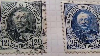 Old/Rare Luxembourg Postage Stamps