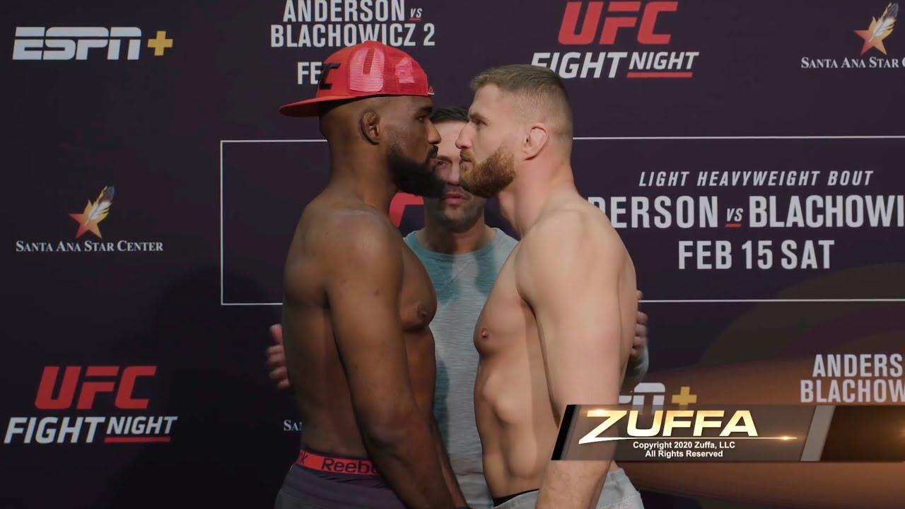 Битва взглядов UFC Fight Night 167