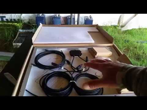 Testing 50 Watt Solar Panel On Solar Powered Wifi Base Stati
