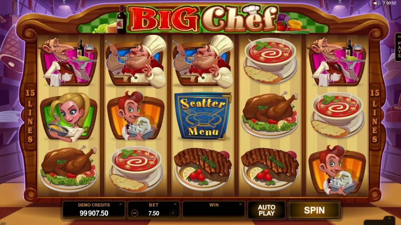 big chef spiele spielautomat online casino spielen kostenlos ohne anmeldung a gold