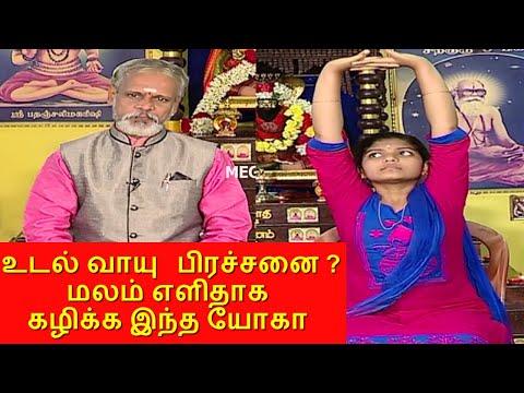 மலச்சிக்கலிலிருந்து குணமாக..! Yoga for constipation | Krishnan Balaji | தேகம் சிறக்க யோகம் | Mega TV