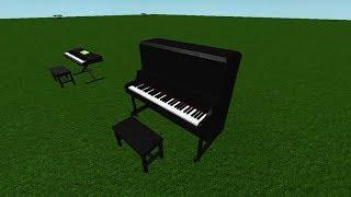 Roblox-Piano Keyboard v1.1-Fur Elise Tutorial+Sheets
