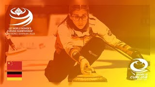 China v Germany - round robin - LGT World Women's Curling Championships 2019