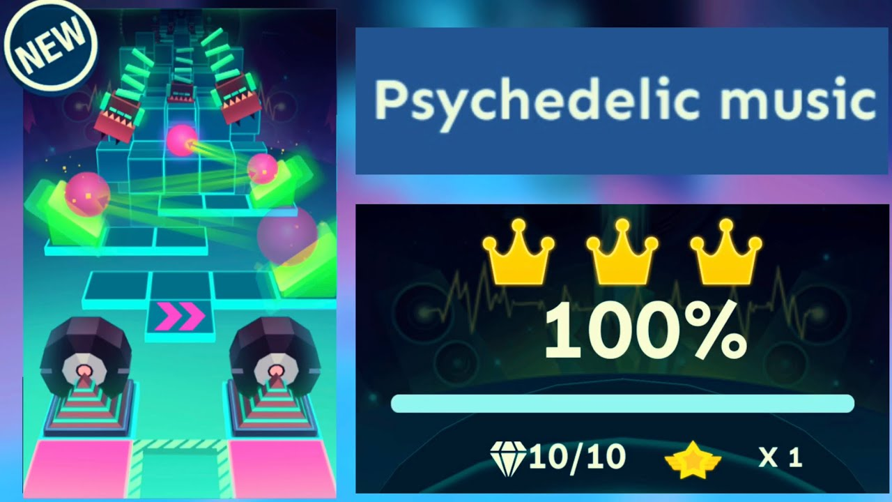 Rolling Sky Halloween Night.Video Rolling Sky Psychedelic Music Level 43 Official