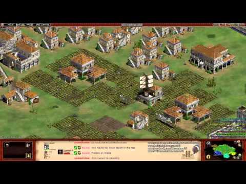 Aoe2 HD: 3v5 Arena (Italians vs the World) (Part 1/2)