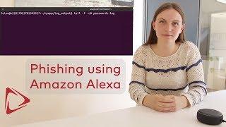 Smart Spies: Amazon Alexa Phishing