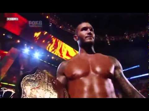 Randy Orton's first entrance as the World Heavyweight Champion! 2011   HDTV   YouTube
