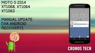 Moto G 2014 Lollipop 5.0.2 Manual Update