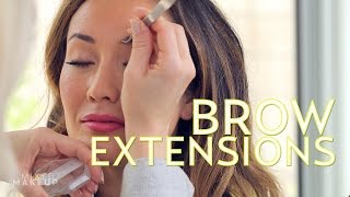 The Best Eyebrow Extensions in Los Angeles | The SASS with Susan and Sharzad