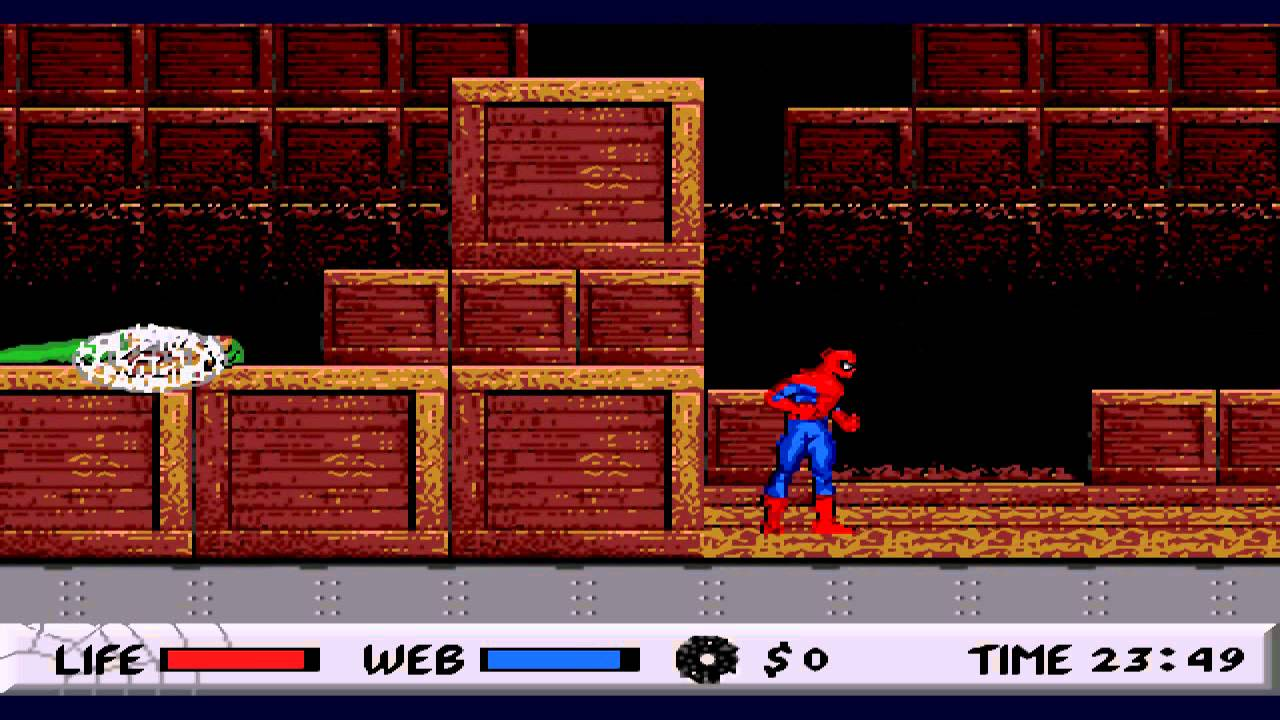 Spiderman vs Kingpin El primer juego de espiderman  YouTube