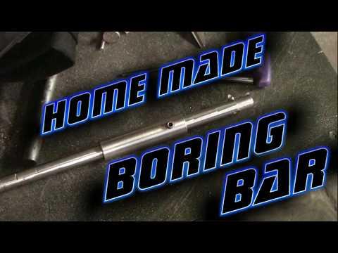 Homemade Boring Bar   Metal Lathe Tool