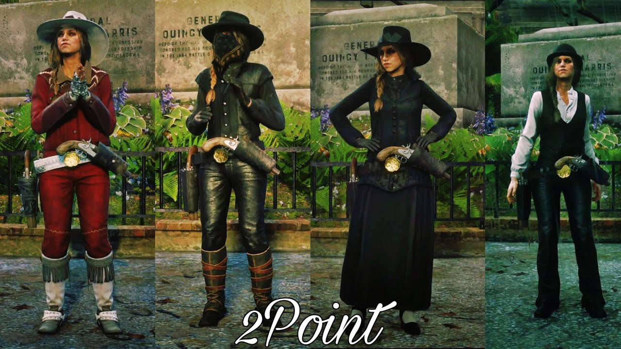 RDR22 Online Female Outfit Ideas/Creations