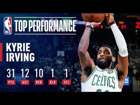 Kyrie Irving GOES OFF For a TRIPLE-DOUBLE Against Sacramento   March 14, 2019