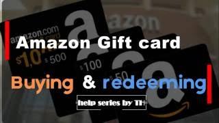 [Update]Amazon Gift Card Buying & Redeeming By Techelper