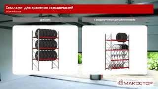 Стеллажи для гаража(Стальные стеллажи для гаража, автомастерской, шиномонтажа и магазина автозапчастей. Компании