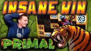 INSANE WIN on Primal Slot - £3 Bet