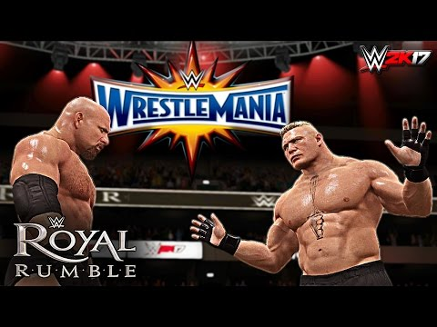 WWE 2K17 - 2017 30 Man Royal Rumble Match (PS4 & XBOX ONE)