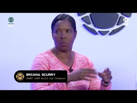 1999 World Cup hero Briana Scurry on saving a penalty in the final